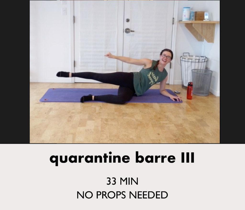 quarantine barre 3