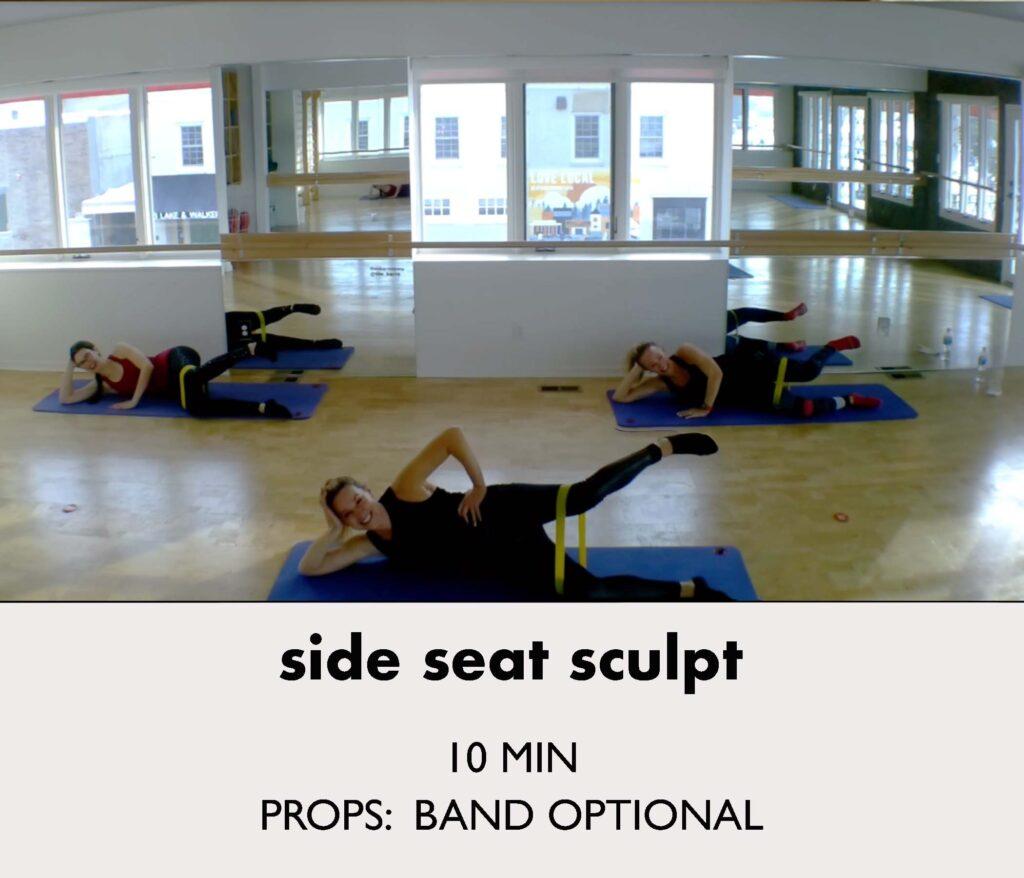 side seat sculpt