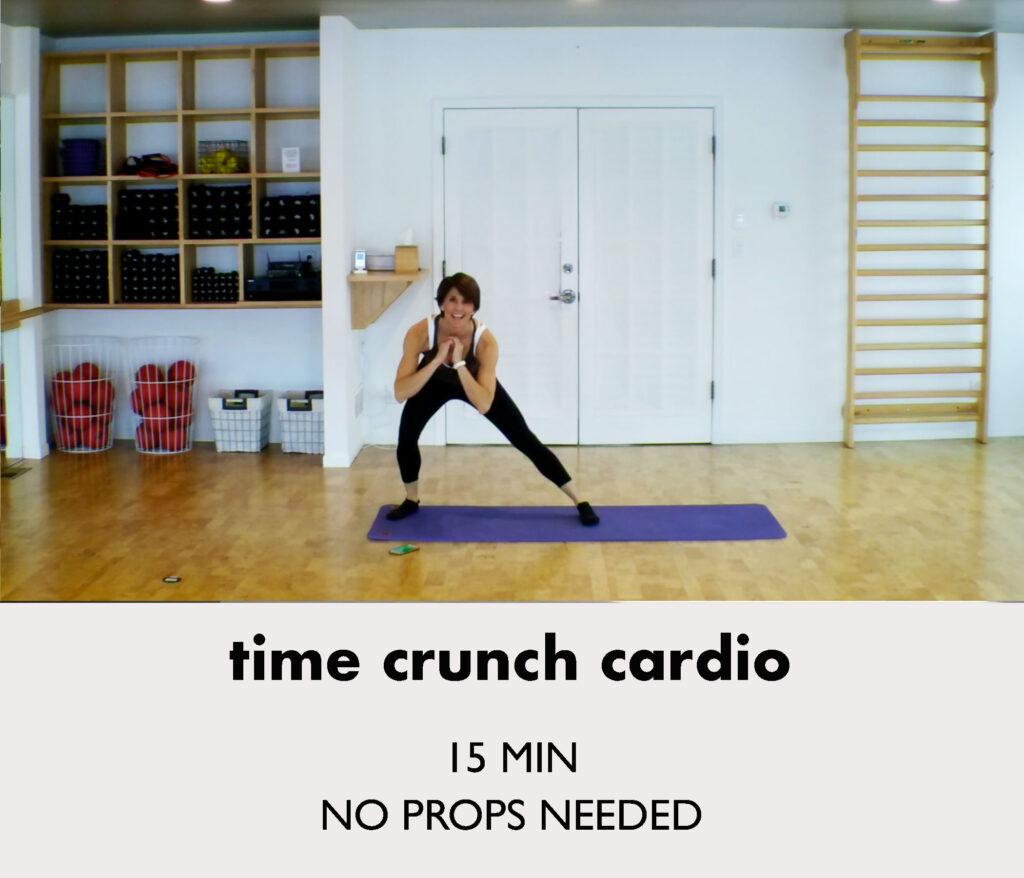 time crunch cardio