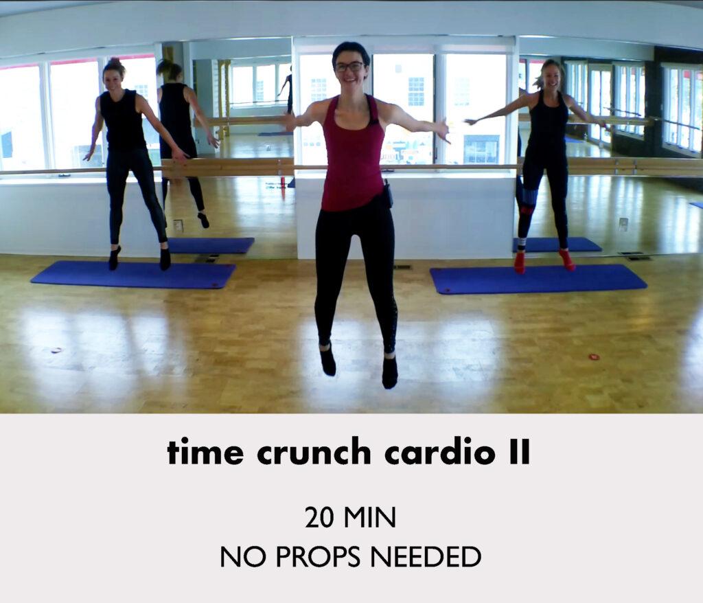 time crunch cardio 2