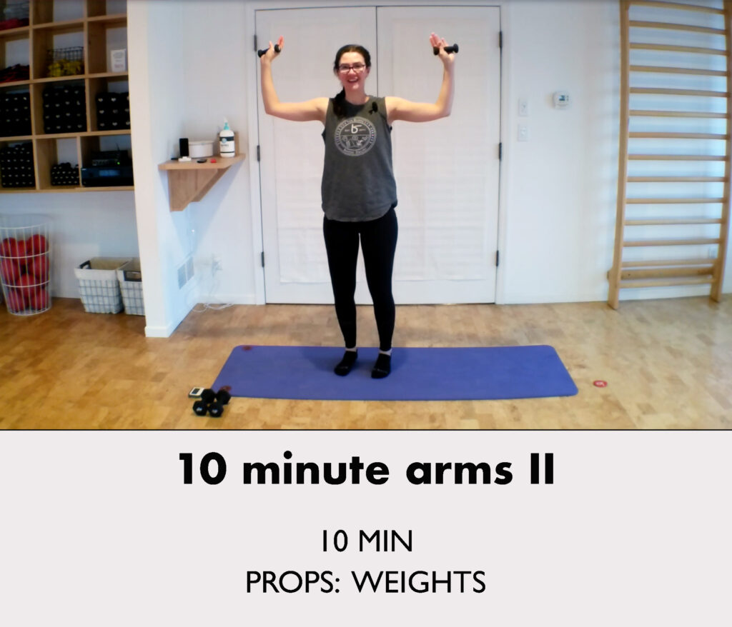 10 minute arms 2