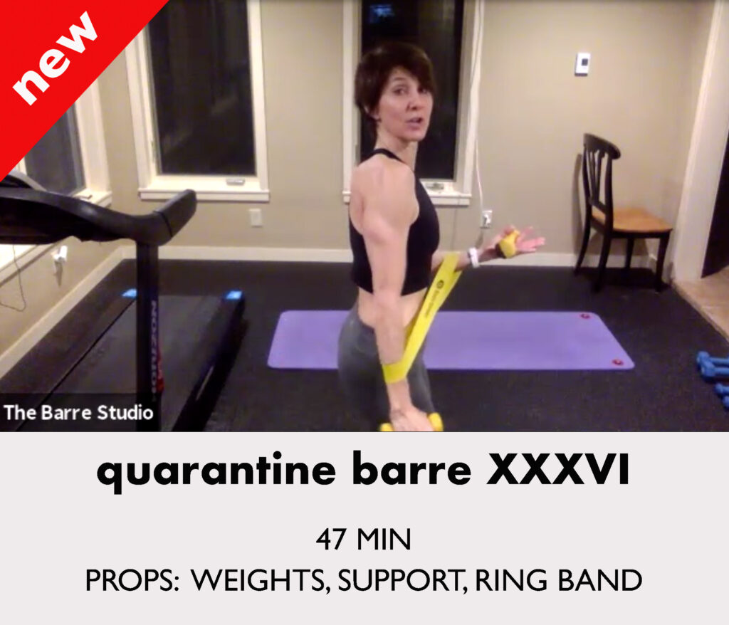 quarantine barre 36