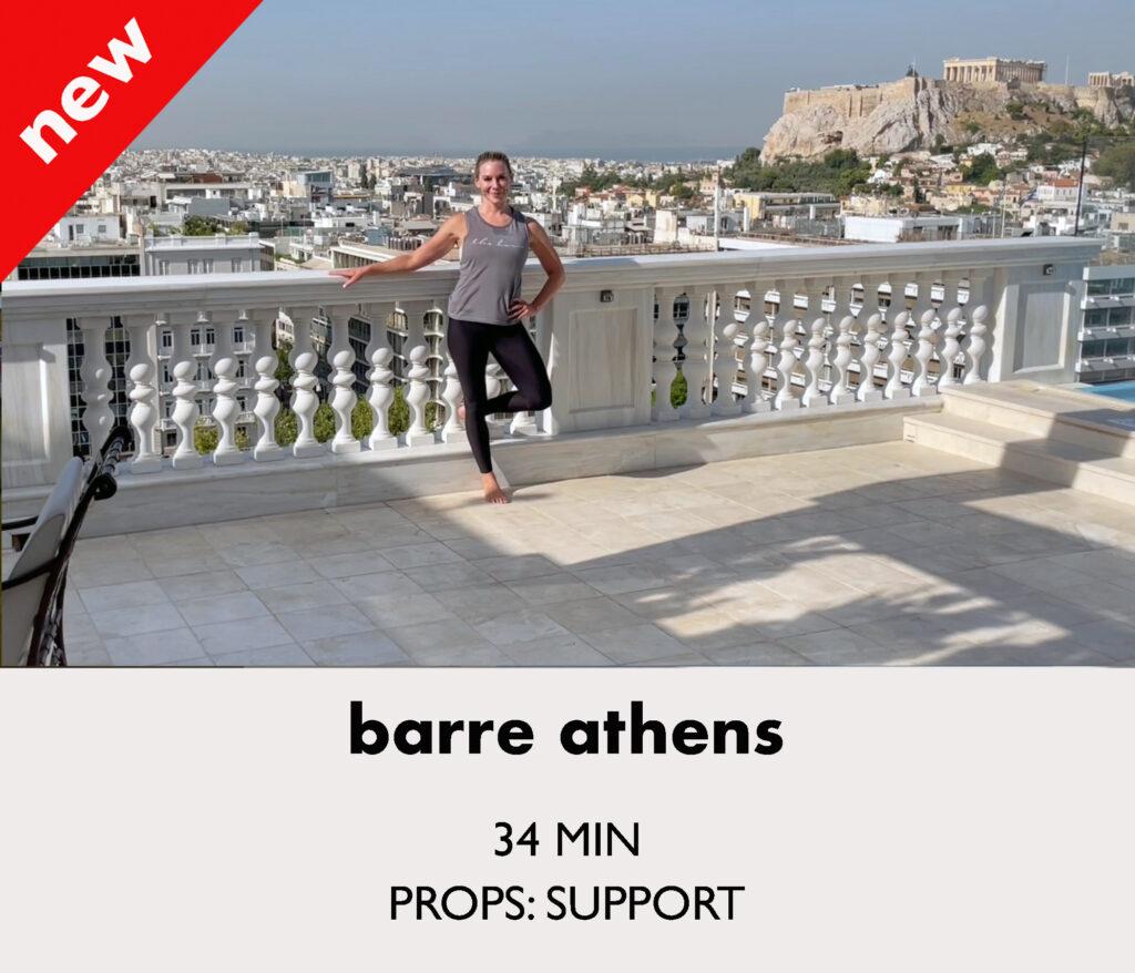 barre athens